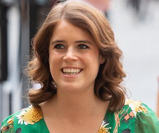 Princess Eugenie makes a very special surprise appearance in a stunning green dress