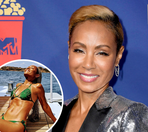 This is exactly how Jada Pinkett-Smith gets her INSANE bikini body