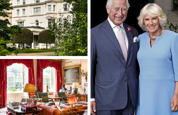 EXCLUSIVE: New photos inside Prince Charles and Duchess Camilla's home, Clarence House