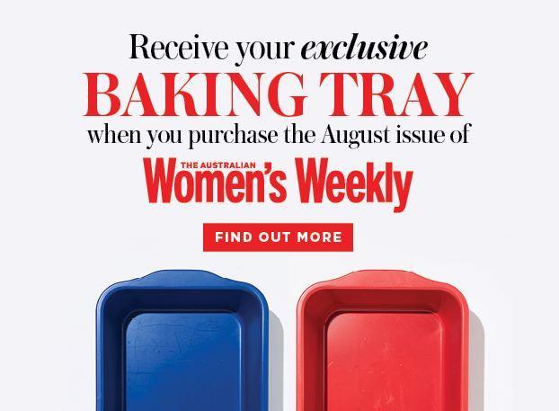 The Australian Women's Weekly Bonus Baking Tray
