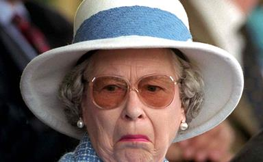 The VERY strange item The Queen always travels with