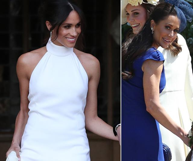 Meghan Markle's bestie and stylist just dressed another bride in her iconic royal wedding dress