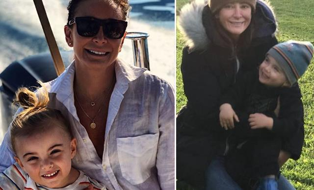 All the times Michelle Bridges' son Axel was her total mini-me