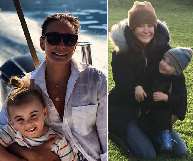 All the times Michelle Bridges' son Axel was her mini me