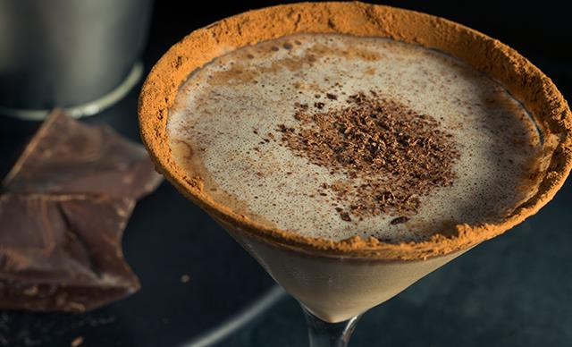 Double park us! How to make a Milo Martini and a Malted Bourbon Milo Milkshake