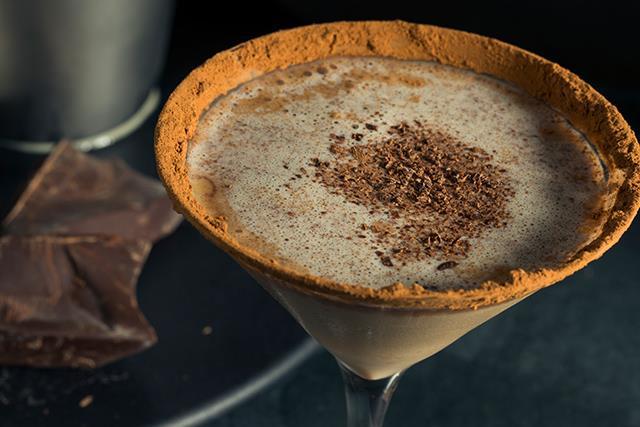Double park us! How to make a Milo Martini and a Malted Bourbon Milo Milkshake