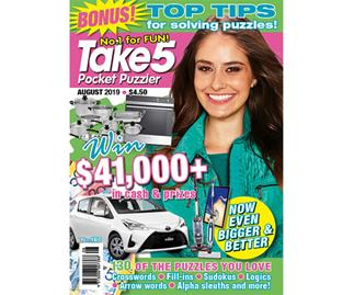 Take 5 Pocket Puzzler Issue 180 Online Entry Coupon