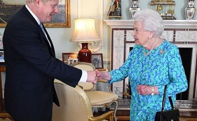 The cringeworthy comment Britain's new prime minister made to the Queen