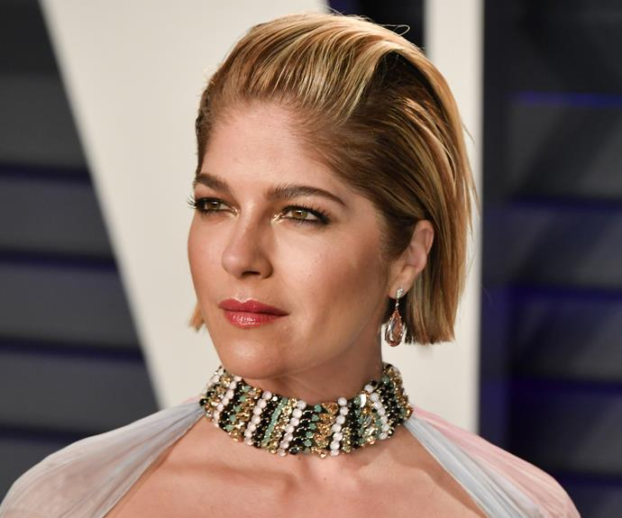 Selma Blair unveils her incredibly brave new hair look