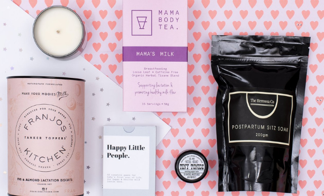 6 of the best modern hamper gifts to spoil new mums