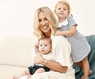 The genius way Phoebe Burgess prepared her toddler for a new baby