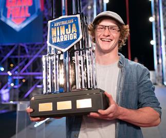 EXCLUSIVE: Australian Ninja Warrior winner Charlie Robbins reveals plans for prize money