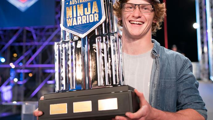 EXCLUSIVE: Australian Ninja Warrior winner Charlie Robbins reveals plans for prize money