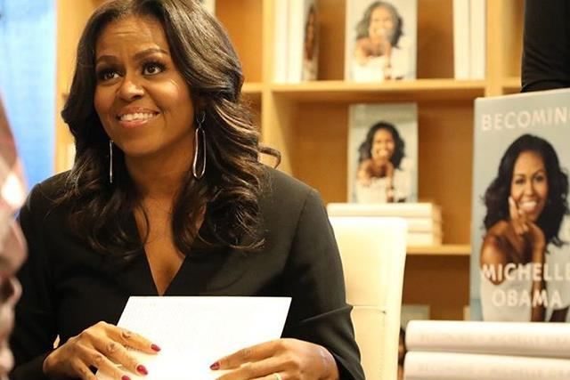 Michelle Obama's vintage photograph of her mum looks just like her
