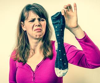 When socks attack: It turns out footwear can be fatal!