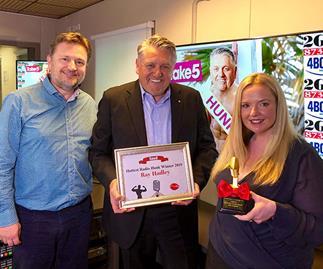 Ray Hadley wins Take 5's Hottest Radio Hunk!