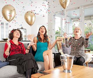 Gogglebox Australia's Silbery family celebrate Emmie's 90th birthday