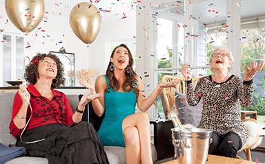 Gogglebox Australia's Silbery family celebrate Emmie's 90th birthday