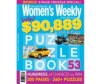 The Australian Women's Weekly Puzzle Book Issue 53