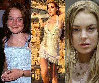 Lindsay Lohan young