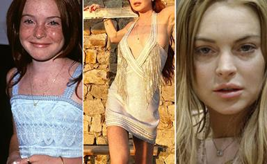 The rise and fall of Lindsay Lohan