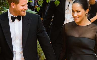 Prince Harry departs from the royal norm for Duchess Meghan's big day - hear his surprise heartwarming tribute