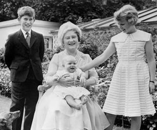 Rare royal throwback photo reveals striking similarity between two VERY prominent royals