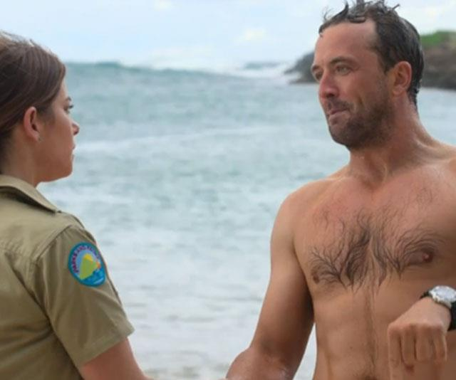 Darren McMullen's shirtless entrance on SeaChange had everyone swooning