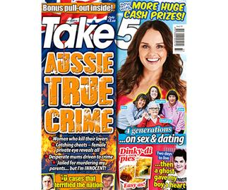 Take 5 Issue 33 Online Entry Coupon