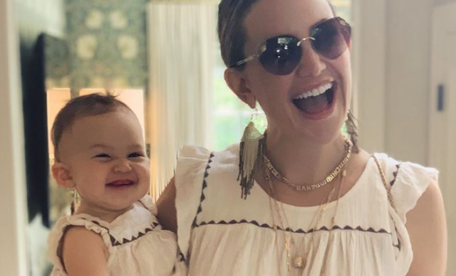 Kate Hudson's latest pics of herself twinning with mini-me daughter, Rani Rose are too much!