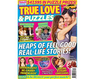 New Mag from Take 5 - True Love & Puzzles