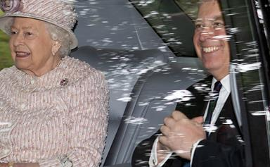 NEW PICS: Prince Andrew and Sarah Ferguson reunite with the Queen for her summer break in Balmoral