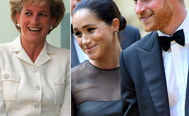 Prince Harry and Duchess Meghan just shared a surprise public tribute to Princess Diana