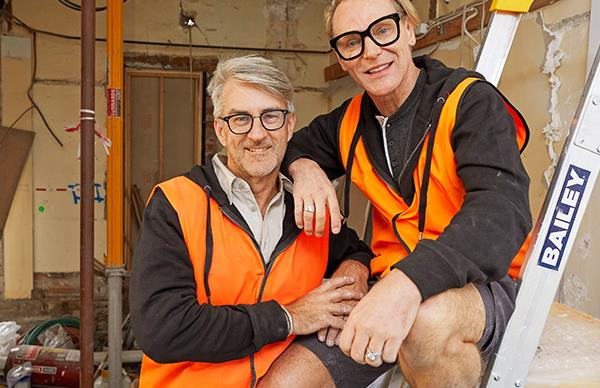 The Block's Mark and Mitch have a sneaky secret plan for their renovation