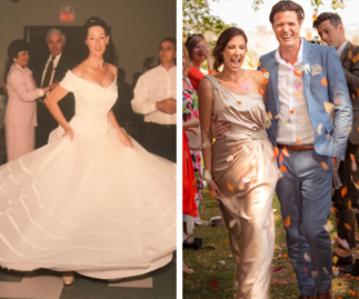 ''I've been married twice. Here's why my second wedding was the complete opposite of my first''