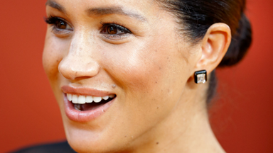 The incredible meaning behind a never-before-seen piece of jewellery worn by Duchess Meghan
