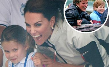 The stunning picture that proves Duchess Catherine is just like Princess Diana when it comes to parenting