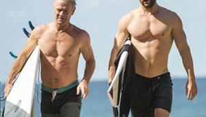 Um, so Chris and Liam Hemsworth's dad is actually super hot