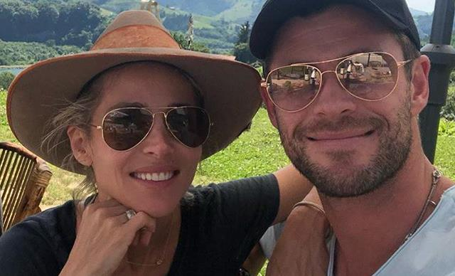 Chris Hemsworth's birthday present from wife Elsa Pataky will melt your heart