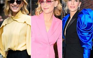 Cate Blanchett's spellbinding fashion display defies her age - see the incredible pics