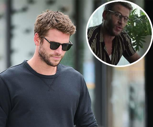 Um, did Liam Hemsworth subtly address his split with Miley in this public advertisement?