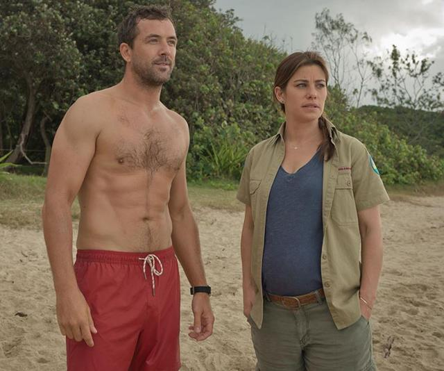 SeaChange's Brooke Satchwell and Darren McMullen's on and off-screen chemistry is sizzling