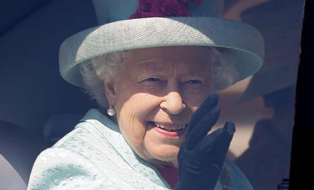 Stunning new photos reveal the Queen heading to church with two of our favourite royals at Balmoral