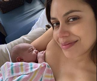 Baby joy! The Voice star gives birth to gorgeous daughter