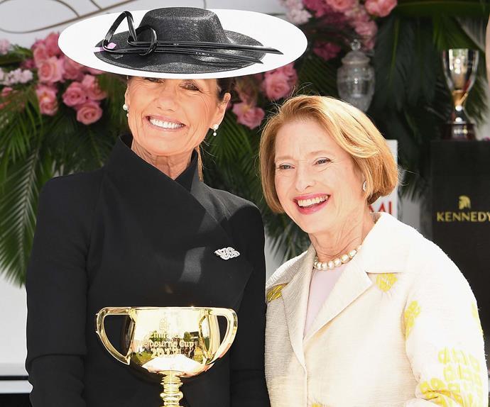 Amanda Elliott and Gai Waterhouse.