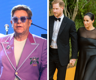 Elton John and Ellen DeGeneres jump to Duchess Meghan and Prince Harry's defence