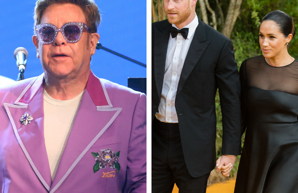 Elton John and Ellen DeGeneres jump to Duchess Meghan and Prince Harry's defence