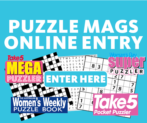 Puzzle magazine online entry