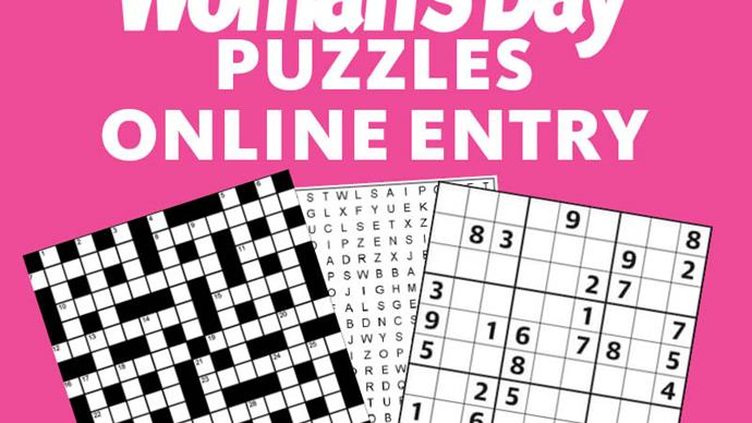 Woman's Day Puzzles Online Entry Coupons