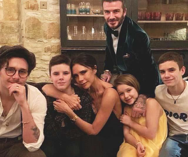Victoria Beckham's latest family snap reveals her kids' uncanny features like never before